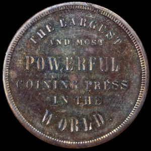 San Francisco Mint Coining Press