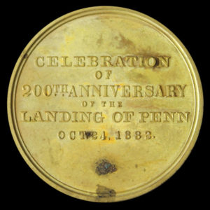 William Penn Pennsylvania Bicentennial Official Medal