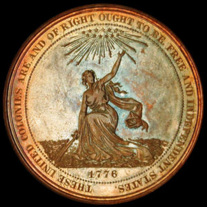 Centennial Exposition Official Medal