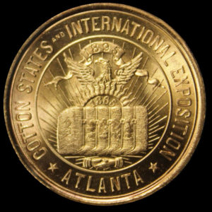 Cotton States & International Exposition Official Medal