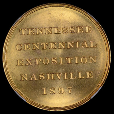Tennessee Centennial Exposition Official Medal