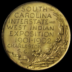 South Carolina Exposition Official Medal