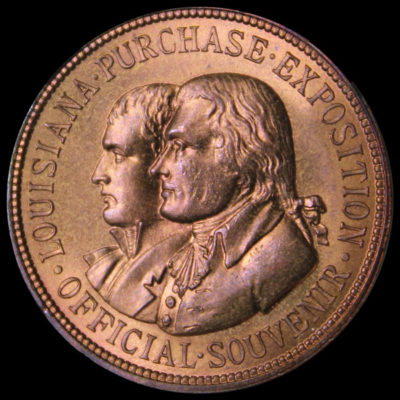 Louisiana Purchase Exposition Official Medal