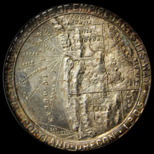 Lewis and Clark Centennial Exposition Official Medal