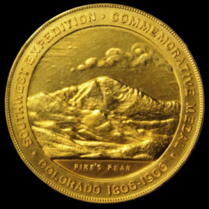 Pike's Peak Southwest Centennial Exposition Official Medal
