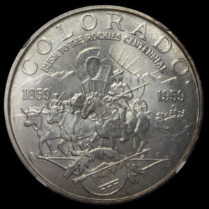1959 Colorado Rush to the Rockies Centennial SCD