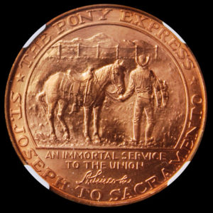 Pony Express Termination Centennial