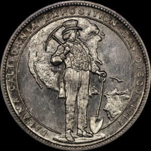 Panama-California Exposition 1915 Official Medal