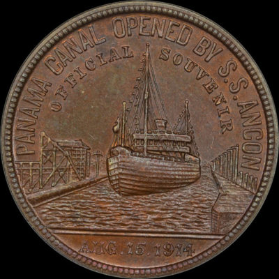 Panama-California Exposition 1916 Official Medal