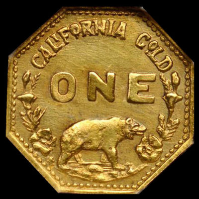 Hart's Gold Coins of the West 1915, Octagonal Minerva