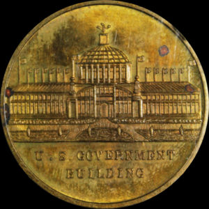 Alaska-Yukon-Pacific Exposition Mint Obverse / Government Building