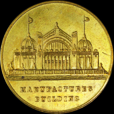 Alaska-Yukon-Pacific Exposition Eight Thick Rays / Manufactures Building No Dots