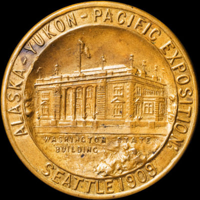 Alaska-Yukon-Pacific Exposition Uniface Washington Building