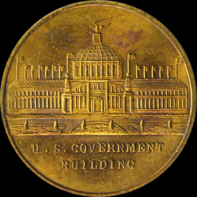 Alaska-Yukon-Pacific Exposition Mint Reverse / Government Building