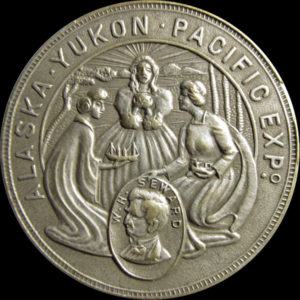 Alaska-Yukon-Pacific Expo. Official Medal