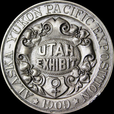 Alaska-Yukon-Pacific Exposition Silver Utah Exhibit
