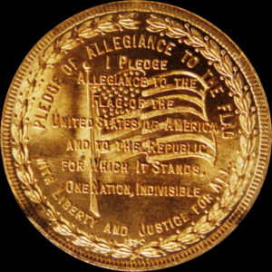 Golden Gate International Exposition Pledge of Allegiance / Textured Seal