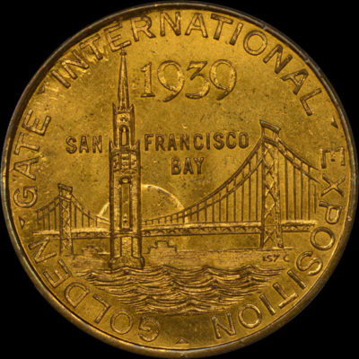 Golden Gate International Exposition Tower of Sun / Pictorial Seal