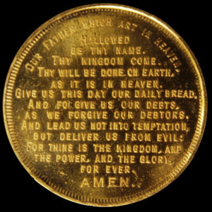 Golden Gate International Exposition Protestant Lord's Prayer / Textured Seal