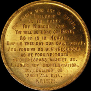 Golden Gate International Exposition Catholic Lord's Prayer / Textured Seal
