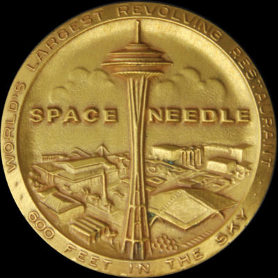 High Relief Space Needle