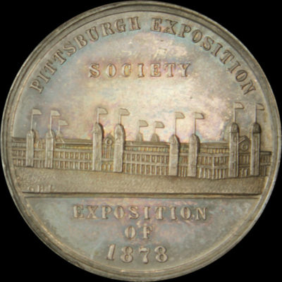 1878 Pittsburgh Exposition Official Medal