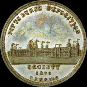 1879 Pittsburgh Exposition Official Medal
