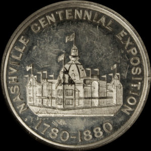 1880 Nashville Centennial Exposition Official Medal