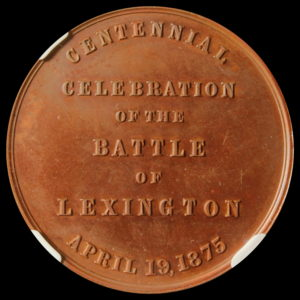 HK-17 1875 Battle of Lexington Centennial SCD