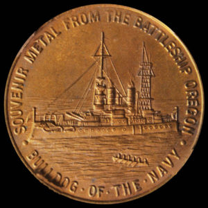 Pacific American International Exposition Official Medal
