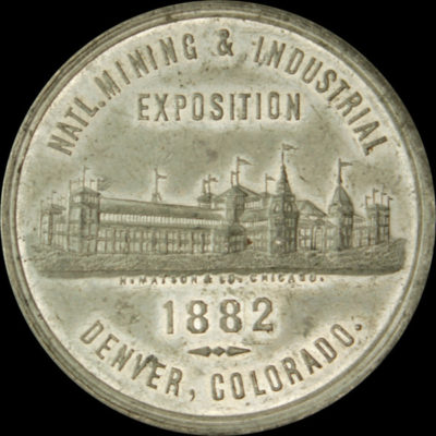 National Mining & Industrial Exposition Official Medal