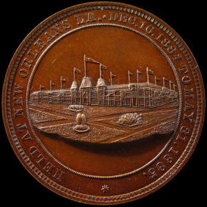 World's Industrial and Cotton Centennial Exposition Official Medal