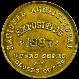 National Agricultural Exposition Official Medal