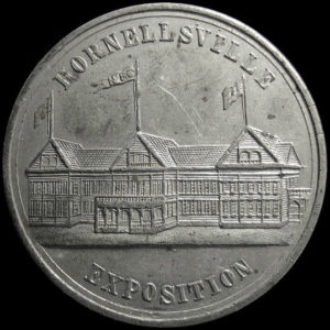 Hornellsville Exposition Official Medal