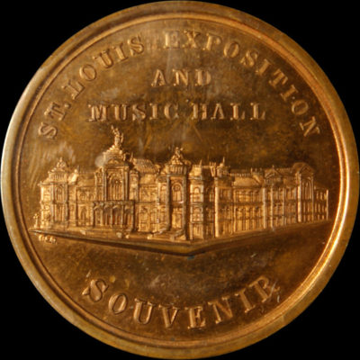 1884 St. Louis Exposition Official Medal