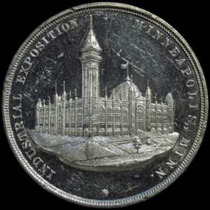 1886 Minneapolis Industrial Exposition Official Medal