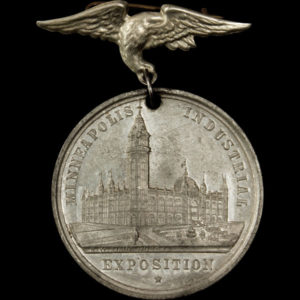 Minneapolis Industrial Exposition Official Medal