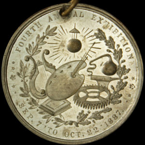 1887 St. Louis Exposition Official Medal