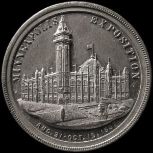 1887 Minneapolis Souvenir Medal