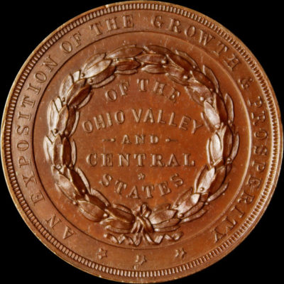 Ohio Valley and Central States Exposition Official Medal