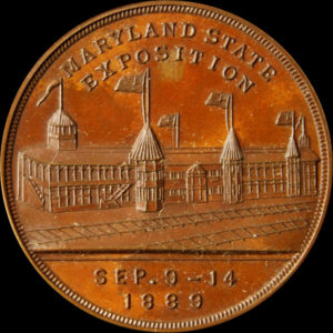 Maryland State Exposition Official Medal