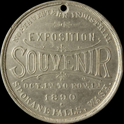 Northwestern Industrial Exposition Official Medal