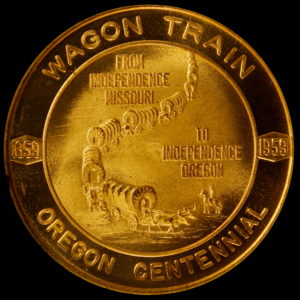 HK-559 1959 Oregon Statehood Centennial – Independence Wagon Train SCD