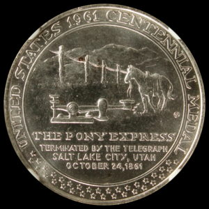 HK-588 1961 Pony Express Termination SCD