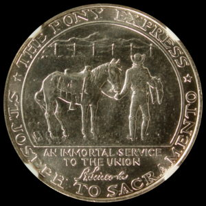 HK-588 1961 Pony Express Termination Silver SCD