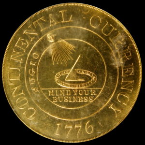 HK-856A 1961 Goldine Continental Dollar restruck by Bashlow