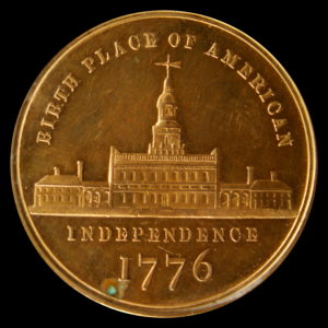 HK-44 1876 Centennial Washington Large Bust / Small Independence Hall SCD