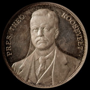 HK-308 Louisiana Purchase Exposition President Roosevelt