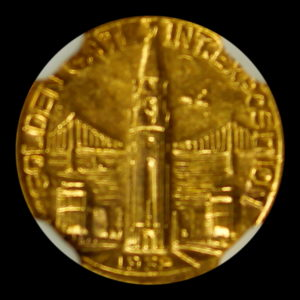 HK-490 1939 Golden Gate International Exposition Charbneau SCD