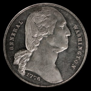 Lot # 1: HK-55 1876 Centennial Washington Large Bust / Seated Liberty SCD